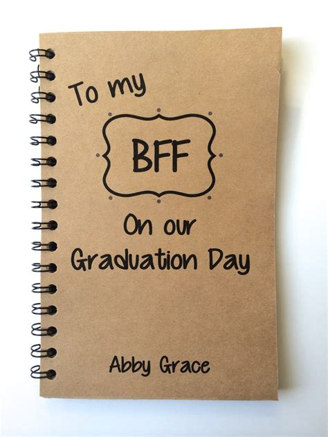 Top 7 Gifts For Your Bff by Best Friend Gift Graduation Gift Bff Class Of 2016
