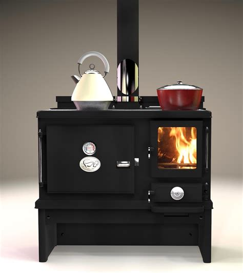 Stove With Oven new small wood cook stove from salamander stoves