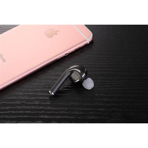 Vovg V1 Airpods Mini Bluetooth Earphone Single Ear Vovg V1 Airpods Mini Bluetooth Earphone Single Ear Black Jakartanotebook