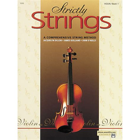 String Books - alfred strictly strings violin book 1 guitar center