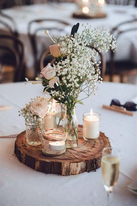 rustic centerpieces for wedding table top 10 rustic wedding centerpiece ideas to
