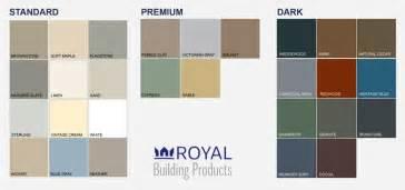 royal siding colors heartland siding colors vinyl siding color chart sles