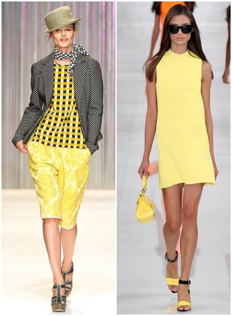 spring  fashion week trends yellow sydne style