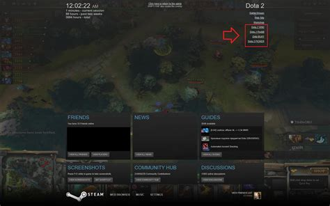 discord ingame overlay psa you can add dota related sites to steam overlay for