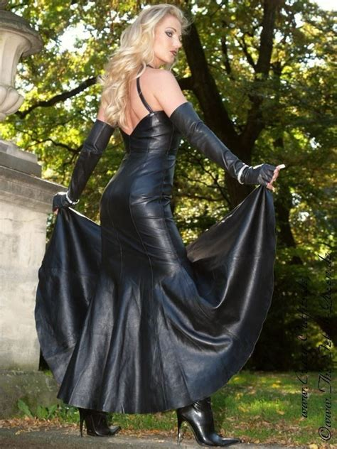 leather kingdom fashion shop lederkleid   designed