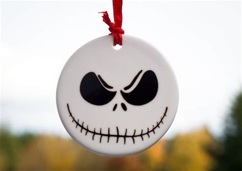 nightmare before christmas skellington ornament jack tree