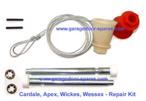 Cardale Cd45 Garage Door Repair Kit Cables And Spindles Garage Door Cable Kit