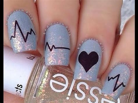 imagenes de uñas decoradas 2015 faciles u 241 as decoradas 2015 youtube