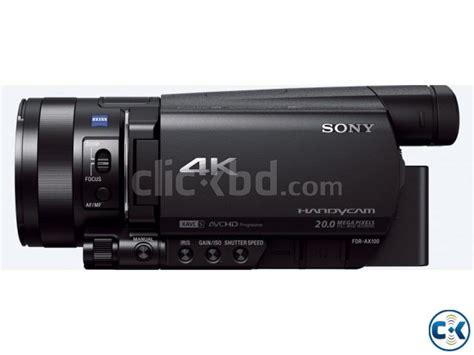 Kamera Sony Semi Pro sony semi pro 4k fdr ax100 b for sale clickbd