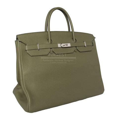 hermes 40cm vert birkin bag 16500 0000