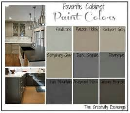 Best Kitchen Cabinet Paint Colors Favorite Kitchen Cabinet Paint Colors Paint Colors Creativity And Painting Oak Cabinets