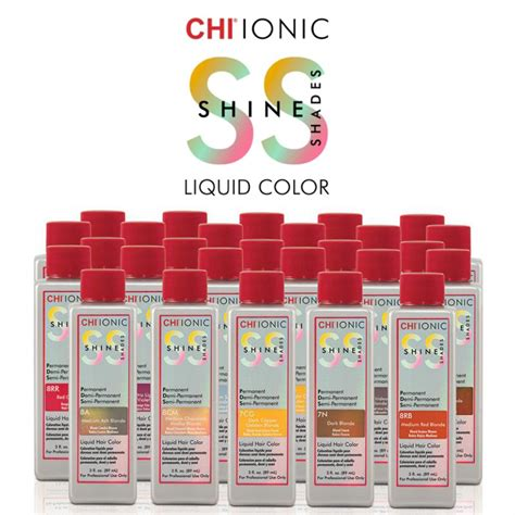 chi color chi ionic shine shades chi hair care professional hair