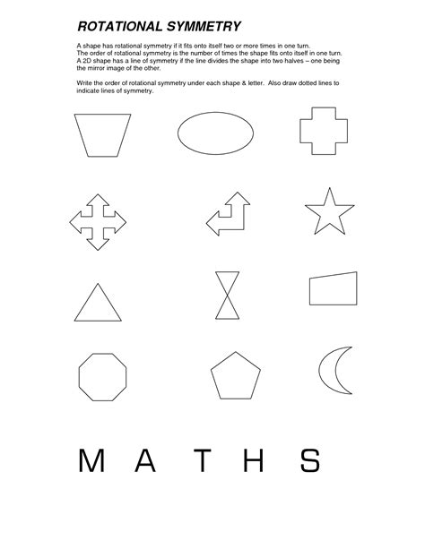 Rotational Symmetry Worksheets by 9 Best Images Of Print Symmetry Worksheets