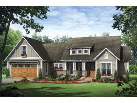 craftsman ranch house plans single story craftsman house
