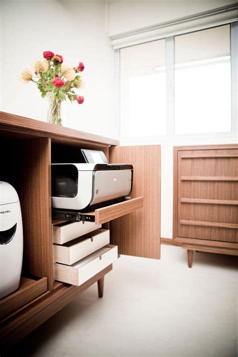 1000 ideas about printer storage on pinterest office 12 built in storage ideas for your hdb flat home decor