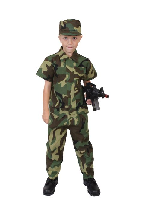 for soldiers child camo soldier costume