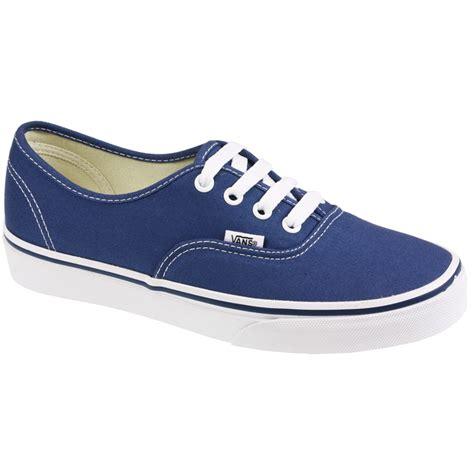 Vans Pr Blue Navy vans authentic canvas skate white black navy purple blue trainers shoes size ebay