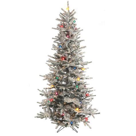 slim 7.5 ft christmas tree
