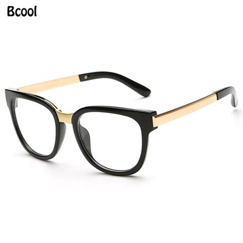 retro glasses eye glasses frame brand designer oculos