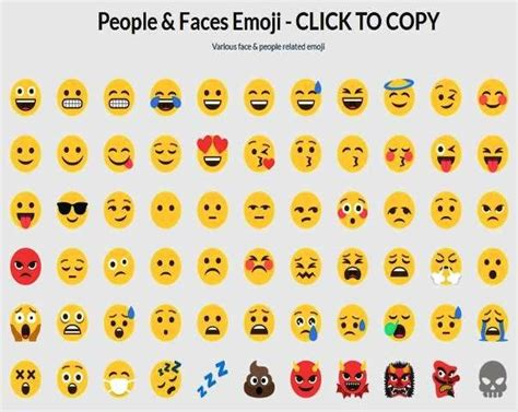 Copy And Paste http www emojicool copy paste emoji list of all