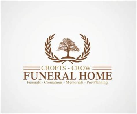 logo design contest for crofts funeral home hatchwise