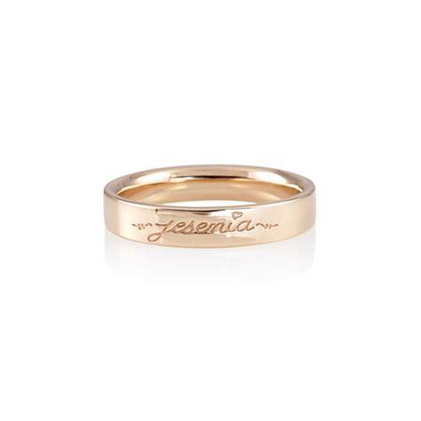 wedding bands with names cynthia britt s wedding band with name for