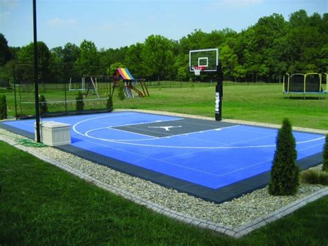 cost to build a backyard basketball court know the cost to get your dream basketball court installed