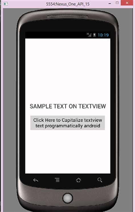 android layout uppercase capitalize all textview text programmatically android