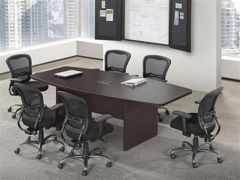 affordable office 6 boat shaped conference table baystate