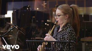 jess gillam award winning saxophonist ulverston cumbria uk
