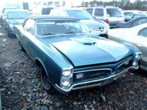 67 Pontiac Gto For Sale Pontiac Gto Project Cars For Sale