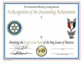 Eagle Scout Certificate Template by Eagle Scout Ceremony Pdf Invitations Ideas