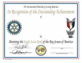 eagle scout certificate template eagle scout ceremony pdf invitations ideas