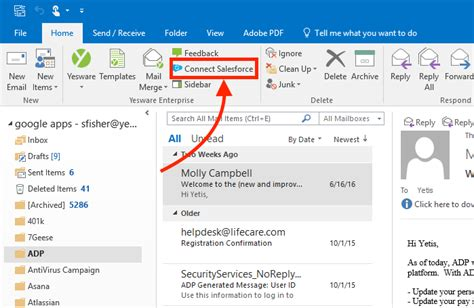 Yesware Outlook Plugin | syncing yesware for outlook with salesforce yesware help