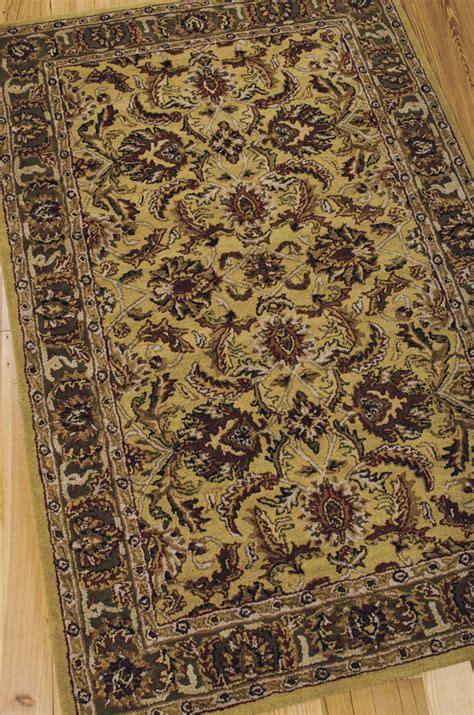 nourison india house rugs india house ih17 gold rug by nourison
