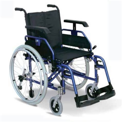 sedia per disabili sedia a rotelle leggera ad autospinta light plus wimed