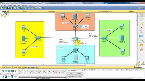 membuat vpn packet tracer membuat ip dhcp pada cisco packet tracer youtube