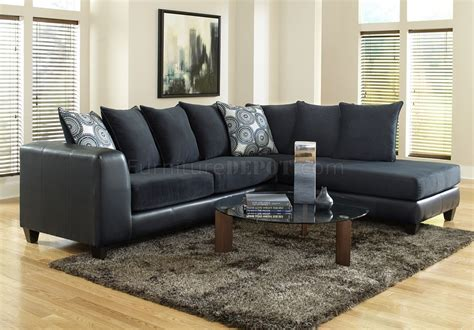 sectional sofa blue 4502 sectional sofa in blue microfiber bi cast