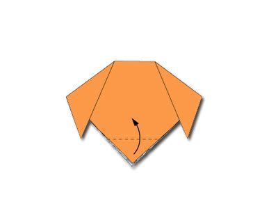 membuat origami bunga iris cara membuat origami wajah kepala anjing cara mudah