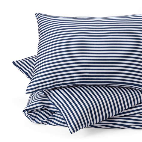 blue and white striped bed linen nashua bed linen blue white striped design