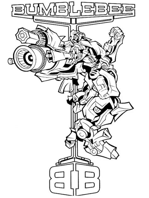 transformers coloring pages pdf free bumblebee transformers age of extinction coloring