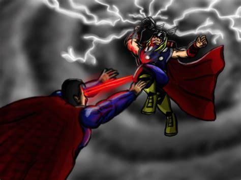 movie thor vs superman thor vs superman by rtfs1