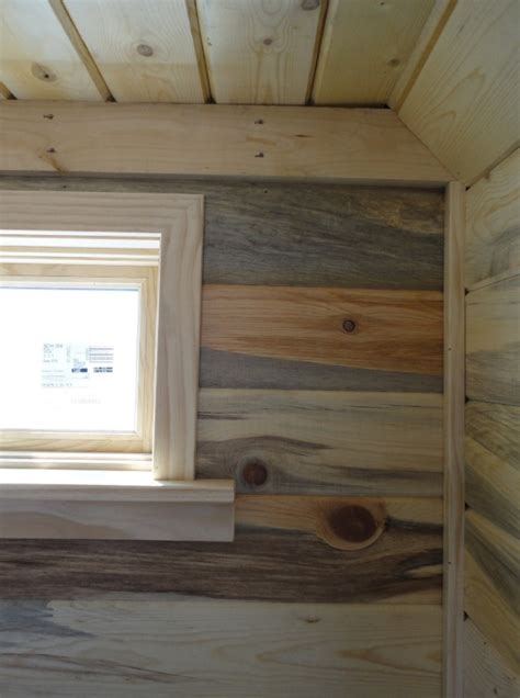 Deck Stain Grey by Beehive Tiny House Interior Paneling Flooring And Trim
