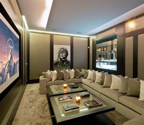Theatre Room Furniture by Best 20 Home Theater Basement Ideas On Home