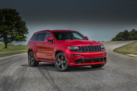 jeep srt 2015 jeep grand cherokee srt adds 5hp red vapor special