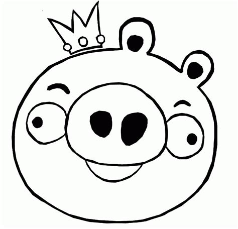 king pig coloring page coloring page pig coloring home