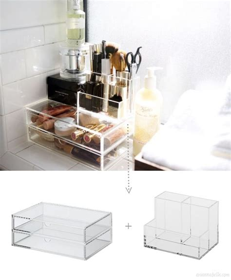 Acrylic Bathroom Storage 1000 Ideas About Acrylic Makeup Organizers On Cosmetic Organiser Clear Acrylic