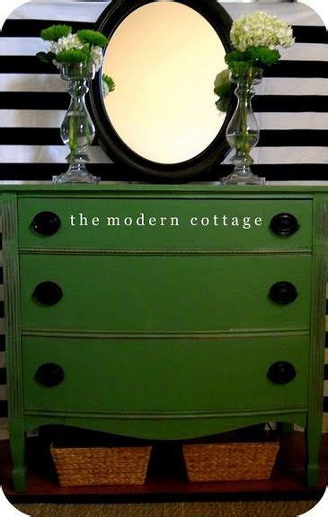 painted furniture double shot green painted