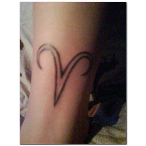 aries tribal symbol tattoo aries images designs
