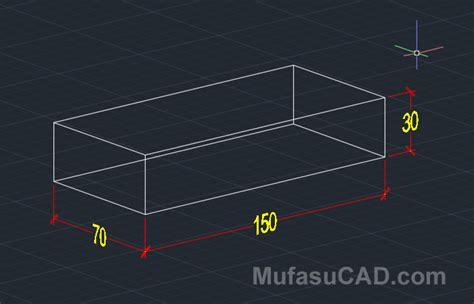 membuat ukuran pada gambar 3d autocad cara membuat atap rumah 3d di autocad mufasucad com